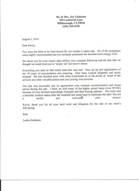 letter - Goldstein