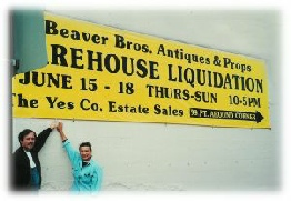 Kevin & Vickie Black Warehouse Sale